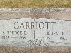 Florence E. <i>Livingston</i> Garriott