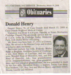 Donald Henry