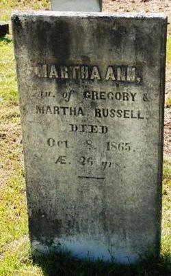 Martha Ann Russell