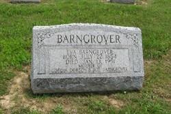 Nancy Evaline Eva <i>Hiler</i> Barngrover