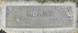 Earl T Adams