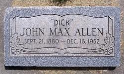 John Max Dick Allen