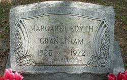 Margaret Edyth Edie <i>Wellons</i> Granttham