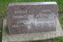 Josephine G <i>Libby</i> Armstrong