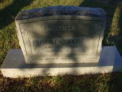 Priscilla Baxley