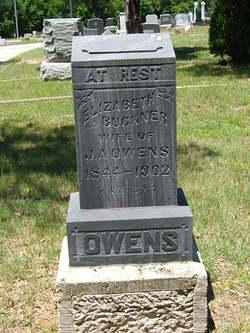 Elizabeth A. Bettie <i>Buckner</i> Owens