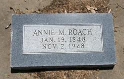 Annie M. <i>Loving</i> Roach