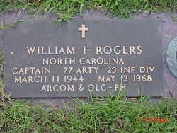 Capt William Francis Billy Rogers