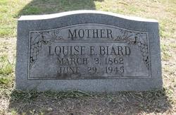 Louise E. <i>Gerhardt</i> Biard