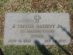John Taylor Bassett, Jr