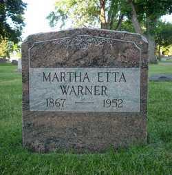 Martha Etta <i>Fuson</i> Warner