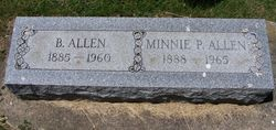 Minnie Pearl Pearl <i>Thomas</i> Allen