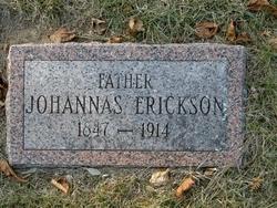 Johannas John <i>Eriksson</i> Erickson