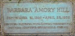 Barbara Jeanette <i>Amory</i> Hill