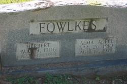 Alma Adell Fowlkes
