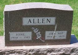 Ione <i>French</i> Allen