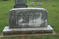 Edna <i>Curlee</i> Voorhis