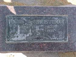 Otis Theodore Christison