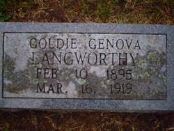 Goldie Genova Langworthy