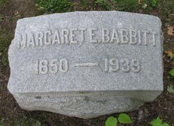 Margaret Elizabeth <i>Wolcott</i> Babbitt