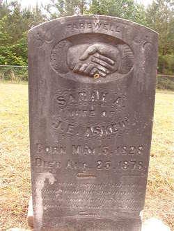 Sarah A <i>Goolsby</i> Askew