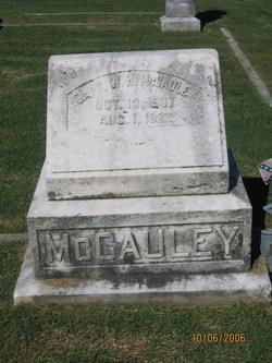 Capt William Hudson McCauley