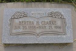 Bertha <i>Henderson</i> Clarke