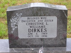 Christine L <i>Williams</i> Dirkes