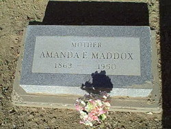 Amanda Ellor <i>Black</i> Maddox
