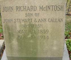 John Richard McIntosh