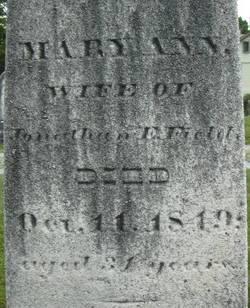 Mary Ann <i>Stuart</i> Field