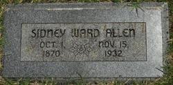 Sidney Ward Allen