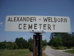 Alexander-Welborn Cemetery