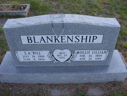 Mollie Lillian <i>Taliaferro</i> Blankenship