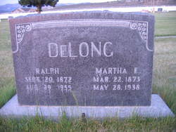 Martha Elizabeth <i>Heywood</i> DeLong