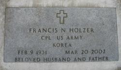 Francis Nicholas Frank Holzer, Jr