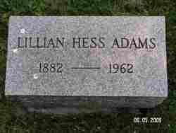 Lillian Pearl <i>Hess</i> Adams