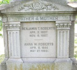 Anna Wigglesworth Annie <i>Cartwright</i> Roberts