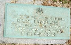 Mary Frede <i>Waldstein</i> Freedland