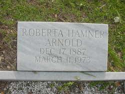 Roberta <i>Hamner</i> Arnold