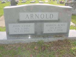 John Clyde Arnold, Sr