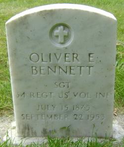 Oliver Elbert Bennett