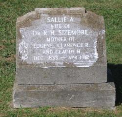 Sarah Ann Sallie <i>Nesbitt</i> Sizemore