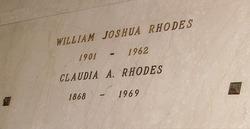 Claudia <i>Altenburg</i> Rhodes