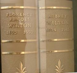 Florence <i>Rhodes</i> Wilton