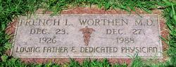 Dr French L Worthen