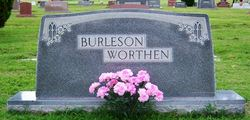 Virginia Belle <i>Worthen</i> Burleson
