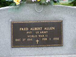 Fred Albert Allen