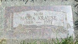Maria <i>Lentz</i> Krause