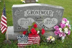Mary F <i>Jordan</i> Gronewold